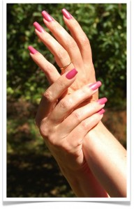 Pink mani.001 192x300 Gel Nails or Acrylic? Which is Better?