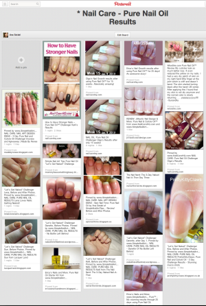 Ana's Pure Nail Oil Pinterest Board