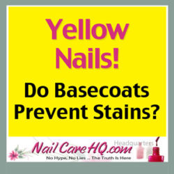 Yellow Nails Do Basecoats Prevent Stains?