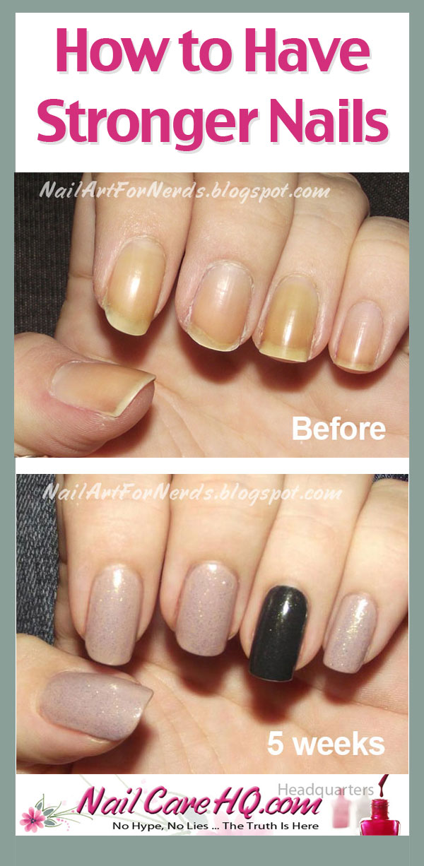 Stronger Nails With Oil? Pure Nail Oil™ Challenger Kelli\'s Results