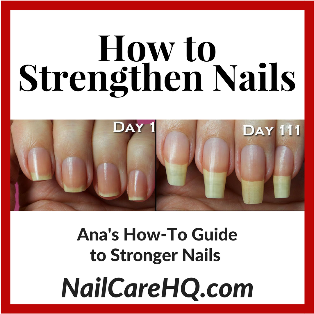 Best Nail Growth And Strengthener Polish: NAIL STRENGTHENER- Ana's Pure Nail Oil™ Challenge
