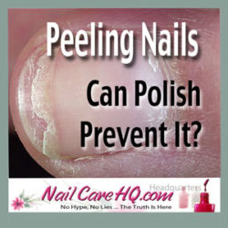 www.NailCareHQ.com - ASK ANA: Peeling Nails - Does Polish Prevent It? Ana addresses how peeling happens and whether polish can help prevent it. Read on ...