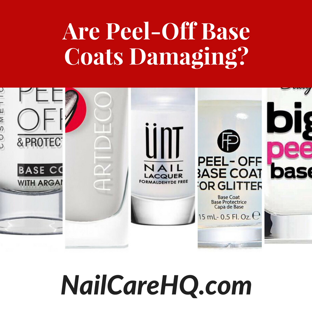 ASK ANA: Peel Off Base Coat - Is It Damaging? - Nail Care HQ
