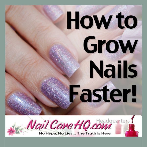 How To Grow Nails Faster!